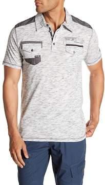 ProjekRaw Projek Raw Short Sleeve Polo Shirt
