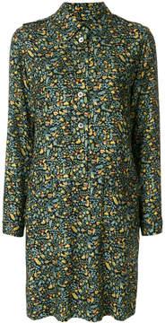 A.P.C. floral buttoned dress