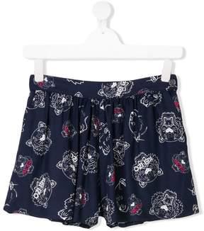 Kenzo Tiger print swimshorts