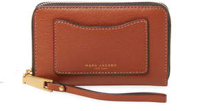 Marc Jacobs Women's Pebbled-Leather Phone Wristlet