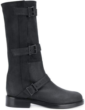 Ann Demeulemeester low heel boots