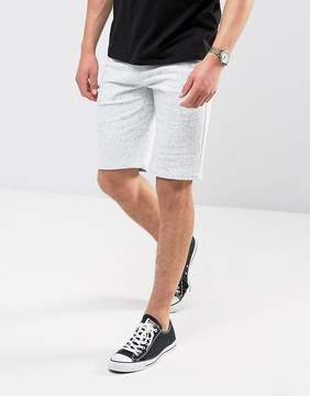 Esprit Jersey Short with Navy Fleck Detail