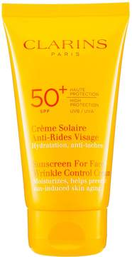 Clarins 50+ SPF Sunscreen For Face Wrinkle Control Cream