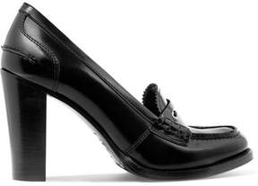 Church's Pembrey Glossed-leather Pumps - Black
