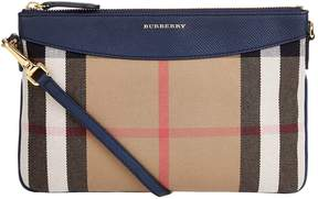 Burberry Peyton Cross Body Clutch - BROWN - STYLE