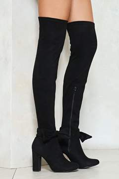 Nasty Gal nastygal Steal the Show Over-the-Knee Boot