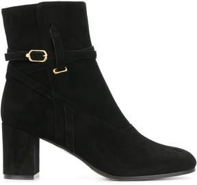 L'Autre Chose strap detailed ankle boots