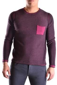 Reign Men's Burgundy Acrylic Sweater.
