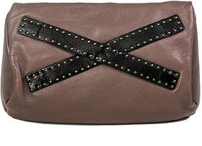 Christopher Kon Taupe Leather Crossbody