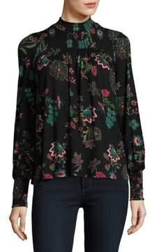 Context Floral Long Sleeve Top