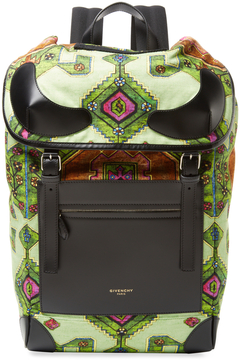 Givenchy Tribal Flap Backpack
