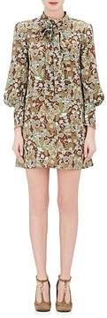 Chloé Women's Butterfly-Print Minidress