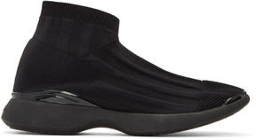 Acne Studios Black Tristan Low Sneakers