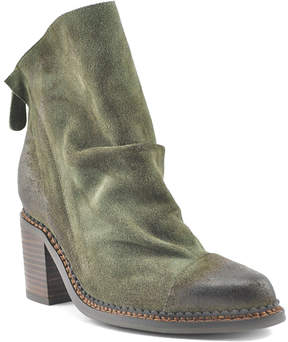 Sbicca Forest Green Millie Suede Boot