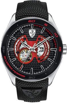Ferrari Men's Automatic Gran Premio Black Silicone Strap Watch 47mm 0830348
