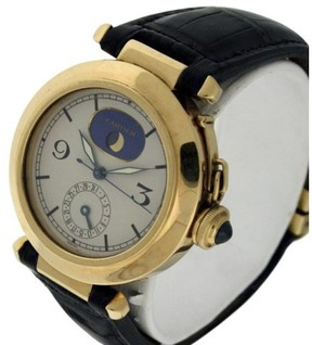 Cartier Pasha 18K Yellow Gold & Leather 38mm Watch