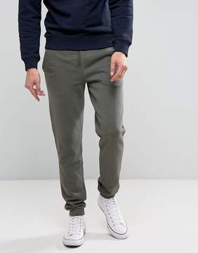 Farah Shalden Slim Fit Jersey Joggers in Green