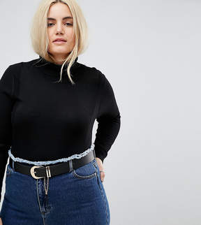 Asos Jeans Chain Detail Belt Water Based