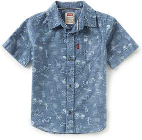 Levi's Little Boys 2T-7 Short-Sleeve Smith Woven Shirt