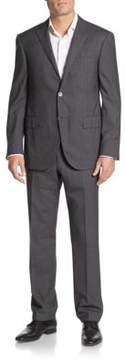Corneliani Regular-Fit Tonal Striped Wool Suit