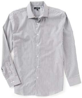 Murano Wardrobe Essentials Spread Collar Stripe Woven Shirt