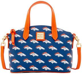 Dooney & Bourke Denver Broncos Ruby Mini Satchel Crossbody - NAVY - STYLE
