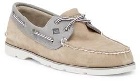 Sperry Leeward 2-Eye Suede Boat Shoe