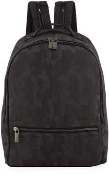 Neiman Marcus Tall Camo Zip Backpack