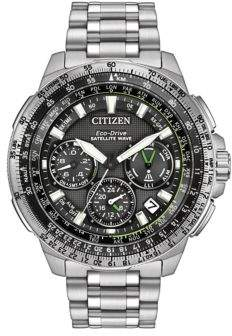 Citizen Eco-Drive Promaster Navihawk GPS Stainless Steel Bracelet Watch