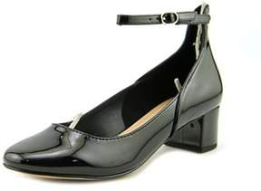 Kelly & Katie Womens Valleti Closed Toe Ankle Strap Mary Jane Flats.