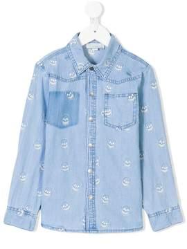 Stella McCartney Melvil skulls shirt