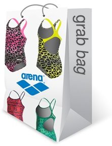 Arena Girls' One Piece Grab Bag Swimsuit 8153630