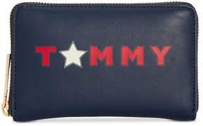 Tommy Hilfiger Smooth Medium Zip-Around Wallet