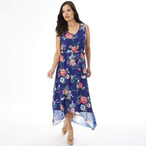 Apt. 9 Women's Smocked High-Low Maxi Dress