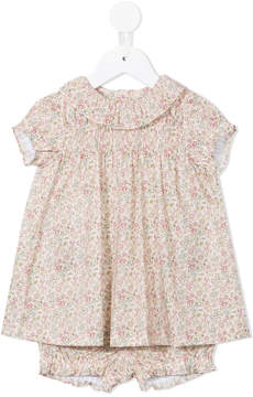 Familiar floral print dress and bloomers