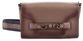 Rebecca Minkoff Leather Crossbody Bag - BROWN - STYLE