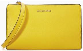 Michael Kors Large Jet Set Crossbody Clutch- Sunflower - ONE COLOR - STYLE