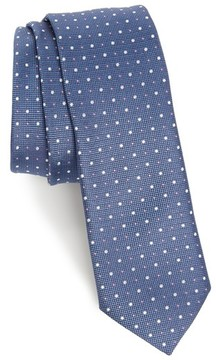 BOSS Men's Dot Silk Skinny Tie