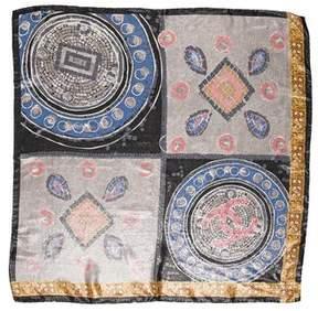 Chanel Mosaic Silk Scarf