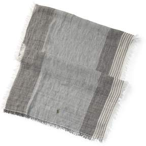Ralph Lauren Striped Linen Scarf