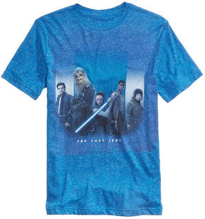 Hybrid Men's Group Fade Blue Graphic-Print T-Shirt
