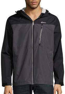 Asics Men's Hooded Long-Sleeve Jacket