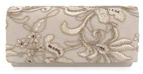 Adrianna Papell Sibel Flap Oyster Convertible Clutch