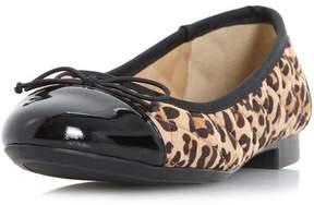 Head Over Heels *Head Over Heels By Dune Leopard 'Hazaa' Flat Shoes