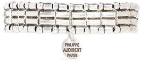 Philippe Audibert Mixed bead elastic bracelet