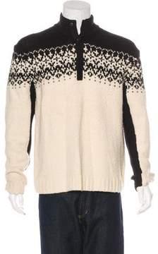 Victorinox Wool-Blend Henley Sweater