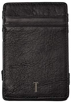Cathy's Concepts Women's 'Magic' Monogram Leather Wallet - Grey