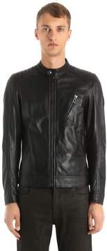Belstaff V Racer Biker Leather Jacket