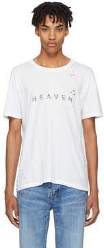 Saint Laurent White Heaven T-Shirt