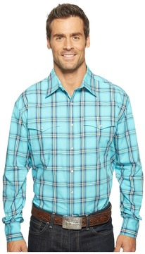 Roper 0831 Sea Ombre Plaid Snap